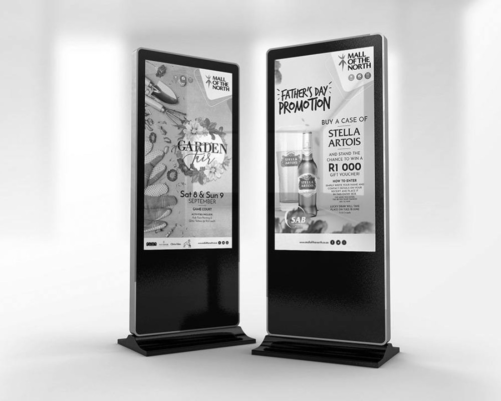 Mall of the North Digital Signage